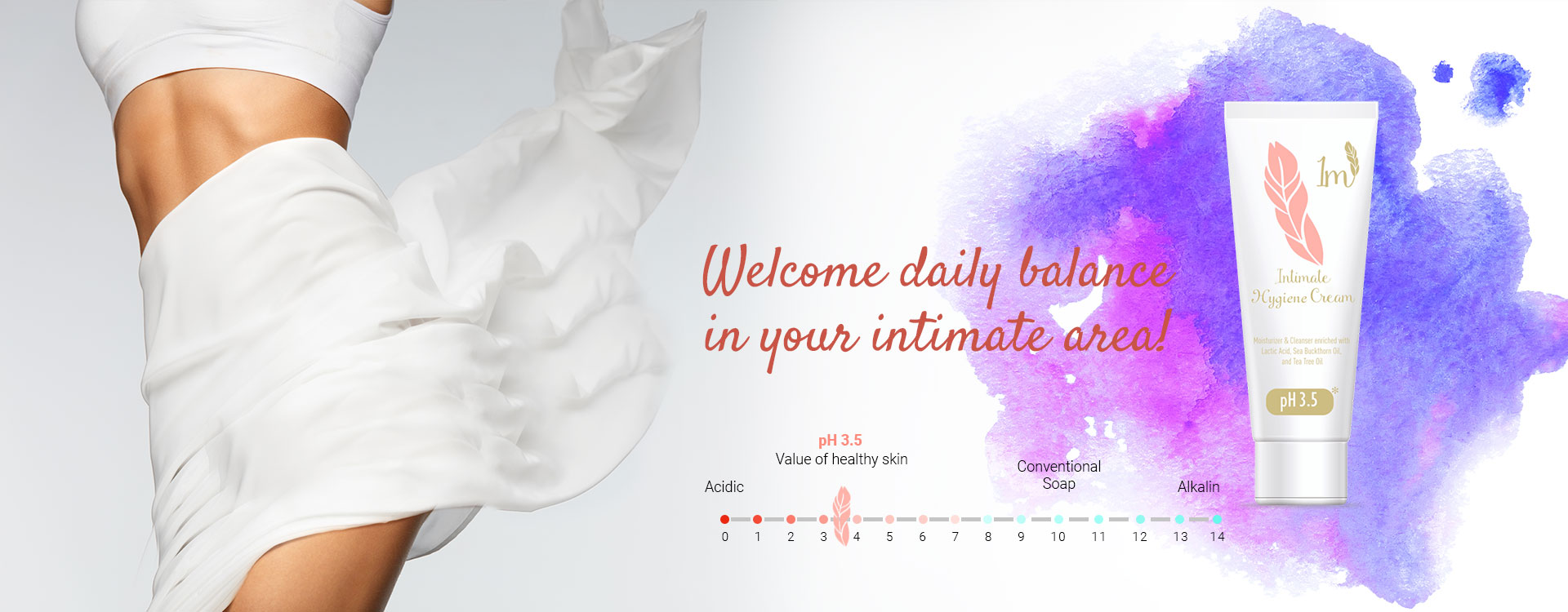 Welcome Daily Balance In Your Intimate Area